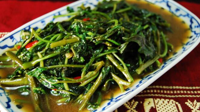 TAI THAI - 料理写真:パックブンファイデーン 大人気!