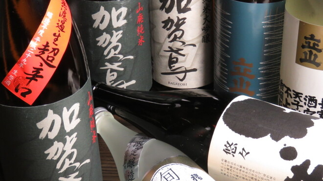 紙屋市べゑ - ドリンク写真:石川・富山の地酒しかありません。大吟醸から何から何まで、500円均一です。