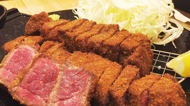 厚切り牛かつ専門店 神戸 牛かつ亭 - 料理写真: