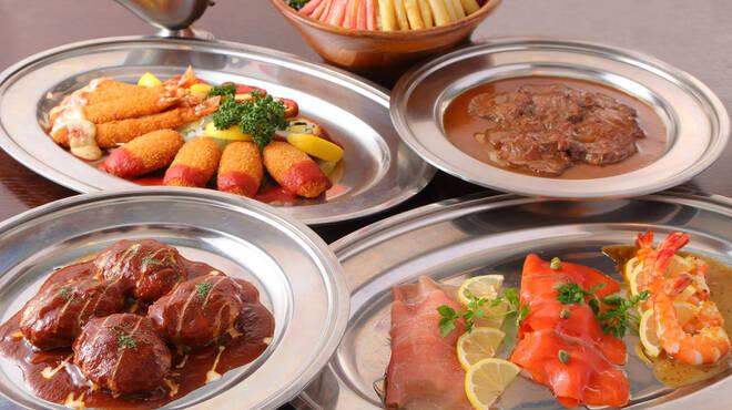 サラダの店サンチョ - 料理写真:シェアコース:コース料理仕立ての大皿取り分け形式