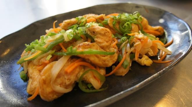 我達食堂 - 料理写真:フーチャンプルー