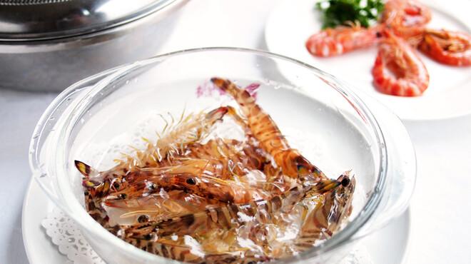 獅門酒楼 - 料理写真:『活 酔払い海老の湯引き』     ※入荷数に制限がございます。    事前の御予約がオススメです!