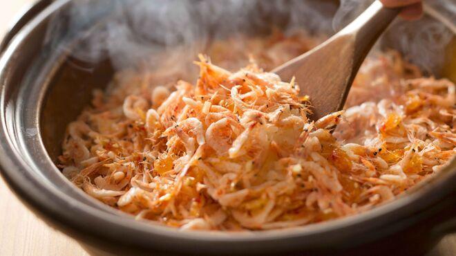 日本橋 墨之栄 - 料理写真:桜海老の土鍋ご飯