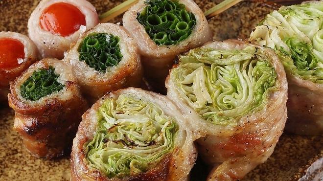 博多野菜巻き串 餃子 きじょうもん - メイン写真: