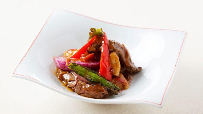 メゾン・ド・ユーロン - 料理写真:短角牛フィレ肉の黒胡椒炒め
