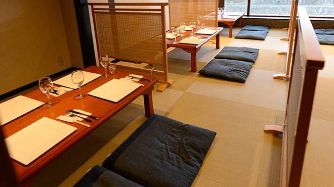 京 French Grill&Buffet 先斗町 HIGUCHI - 内観写真:席のみ予約もOK!お店に行ってからご注文。アラカルトのみもOK!