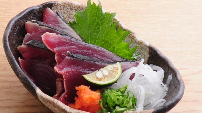 ときすし - 料理写真:カツオのたたき