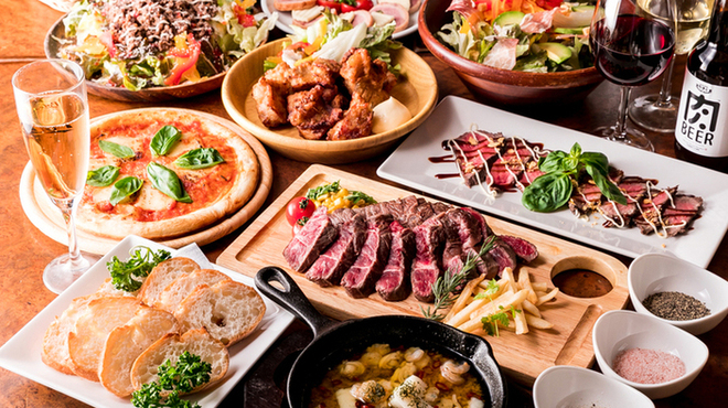 ステーキ&ローストビーフ食べ放題 個室 肉バル MEATBOY N.Y - メイン写真: