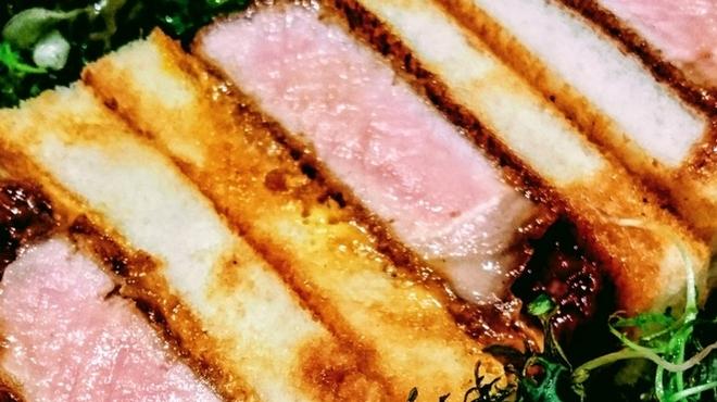 Fukushima - 料理写真:厚切りポークカツサンド