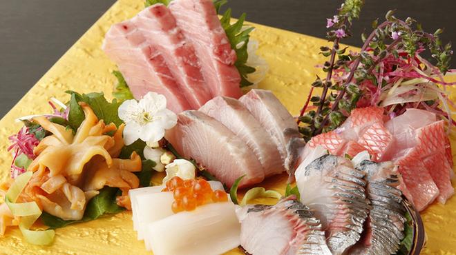 貝と炭火と日本酒 撓 - メイン写真: