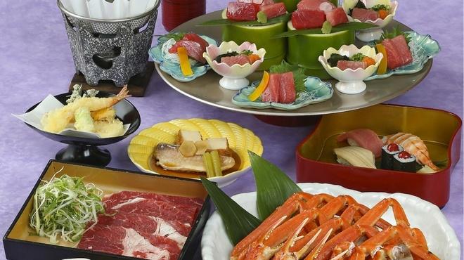 がんこ - 料理写真:本まぐろ宴会牛
