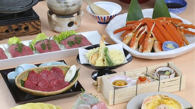 がんこ - 料理写真:男の花道/近江牛鉄板焼き
