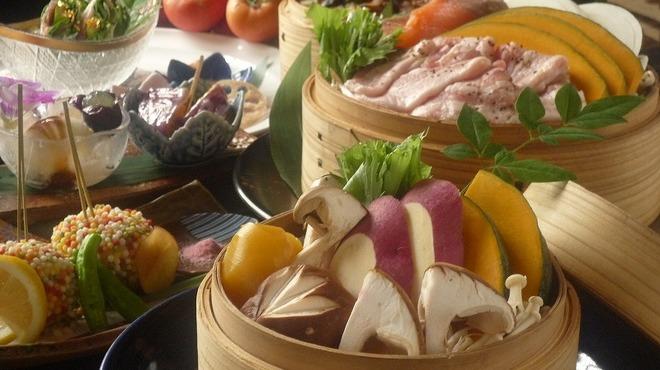 いもくりなんきん - 料理写真:コース料理1