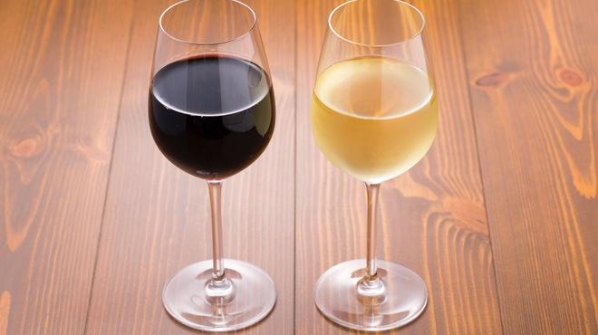 クラフトビア麦畑 - ドリンク写真:グラスワイン、その他ボトルワインも数種ご用意しております!