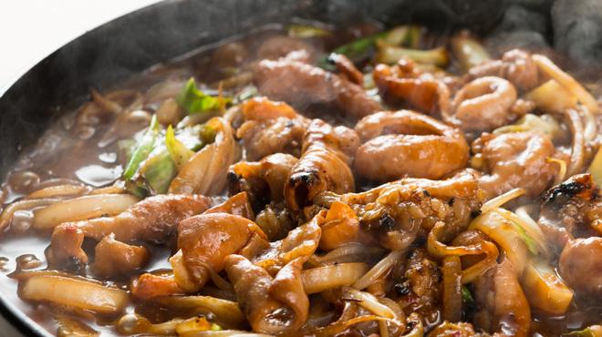 豚料理 とんと - 料理写真:鉄板味噌とんちゃん