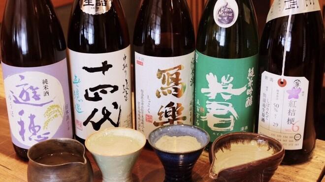 池袋 一龍庵 - ドリンク写真:全国から厳選された地酒