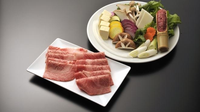 神戸プレジール - 料理写真:しゃぶしゃぶ