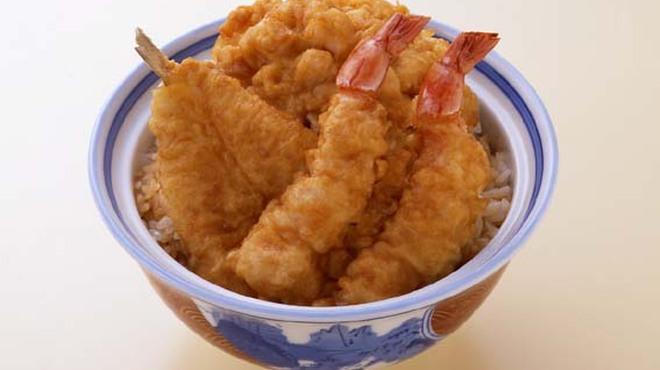 銀座 天國 - 料理写真:1階 お昼天丼 1,100円(税込)