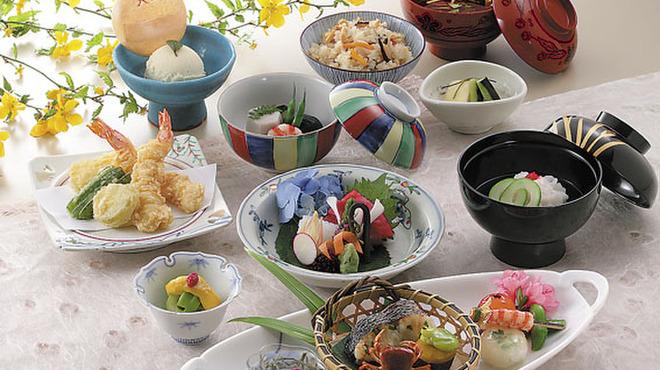 銀座 天國 - 料理写真:2階 会席料理「彩」(あや)5,940円(税込)