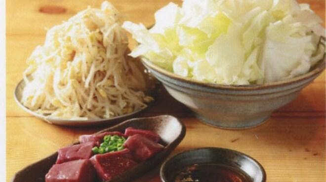 亀戸ホルモン - 料理写真:塩キャベツ、もやしナムル