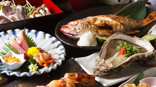 銀座 鮨 たじま - 料理写真:コース一例