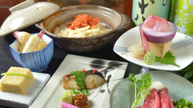 瓢箪坂 おいしんぼ - 料理写真:皐月のコース