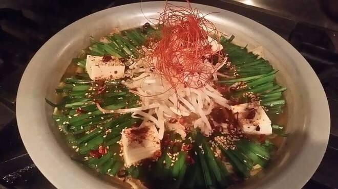 もつ鍋 亀八 - 料理写真:夏季限定鍋!夏の名物、辛鍋!!