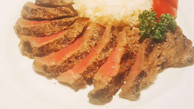 レストランテグリル イグアス - 料理写真:牧草牛 ランプステーキ!