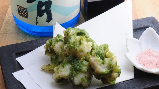 ときすし - 料理写真:鱧磯辺揚げ