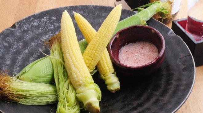 ときすし - 料理写真:ヤングコーン