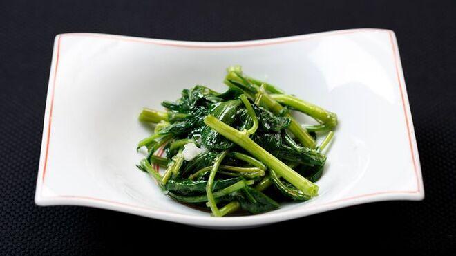 メゾン・ド・ユーロン - 料理写真:空心菜のガーリック炒め