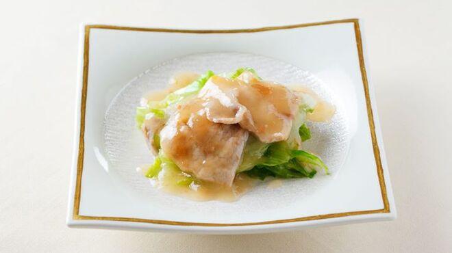 メゾン・ド・ユーロン - 料理写真:国産ハーブ豚ロースの梅醤蒸し