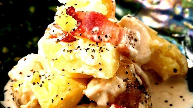 燦 - 料理写真:雪室じゃが芋のポテトサラダ