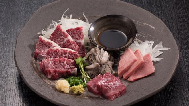 どん蔵 - 料理写真:和牛刺身