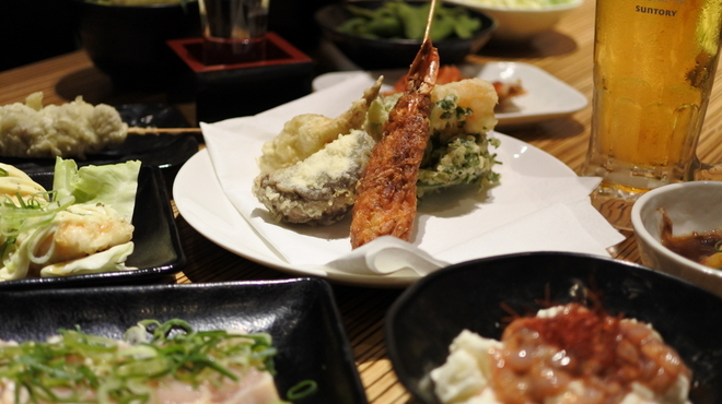 京都 錦 天ぷら酒場 たね七 - 料理写真:名物メニューを全制覇!たね7コース♪
