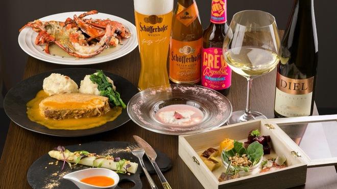 Wasserfall - 料理写真:常時40種以上の海外ビールとヨーロッパワイン。こだわりの食材を使ったお食事。