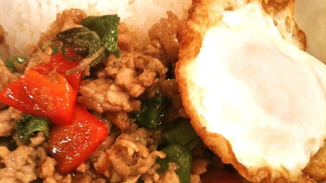 CONROW - 料理写真:ガパオご飯