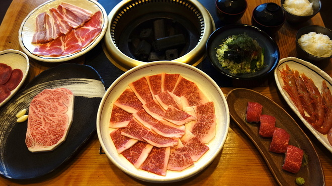 石垣屋 - 料理写真:大満足セット