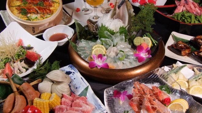 ざうお - 料理写真:H30夏の宴会4500円コース