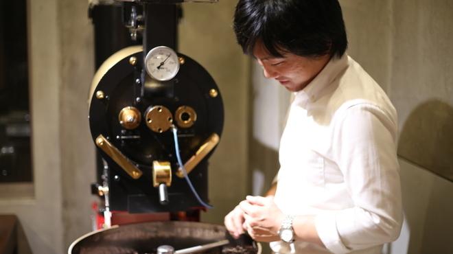椿サロン - ドリンク写真:コーヒーは札幌本店にて自家焙煎