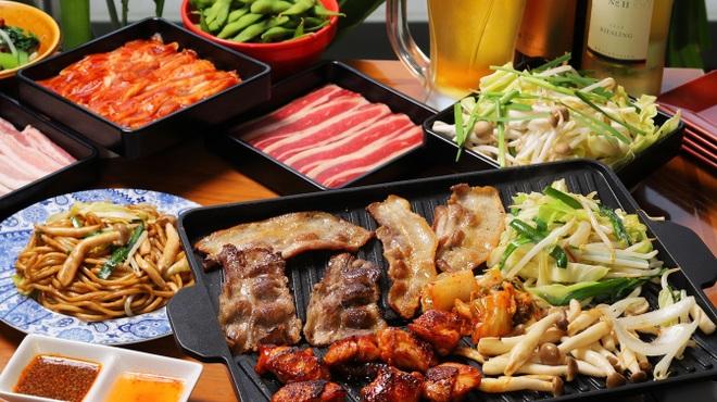 横浜モアーズ 食べ放題BBQビアガーデン - メイン写真: