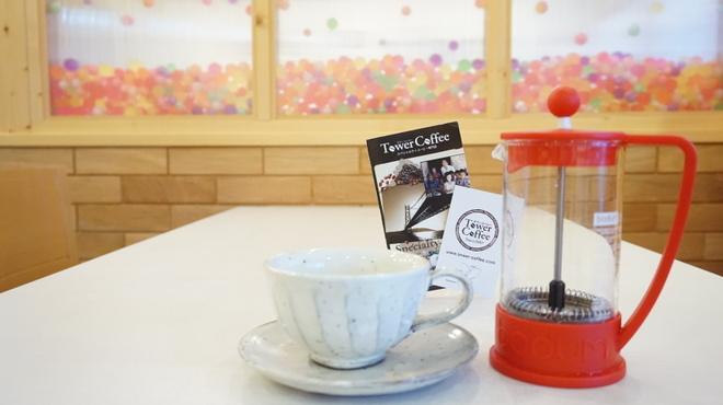 洋風創作うどん KEKKOI - ドリンク写真:当店のコーヒーは コーヒープレスでお出ししております。