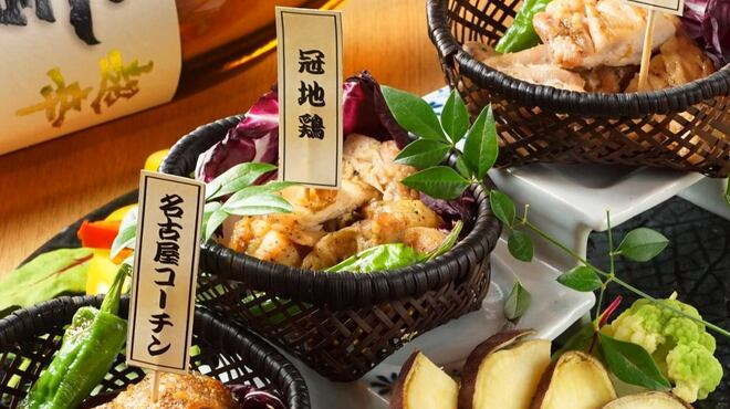 個室居酒屋 地鶏と地酒 鶏っく - メイン写真: