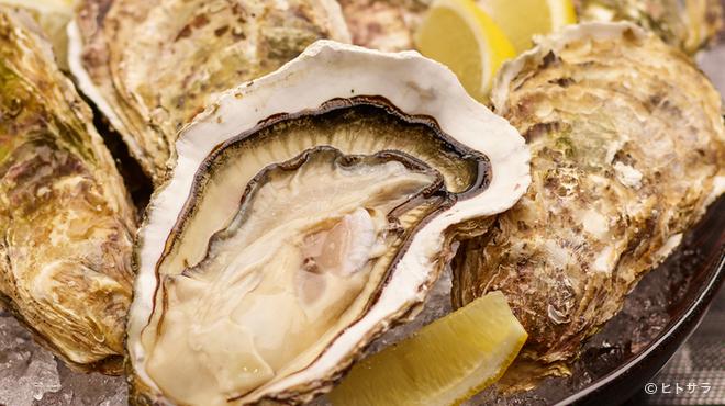 オイスターダイニング せるふぃっしゅ - 料理写真:厳選された新鮮でおいしい牡蠣をぜひお召し上がりください