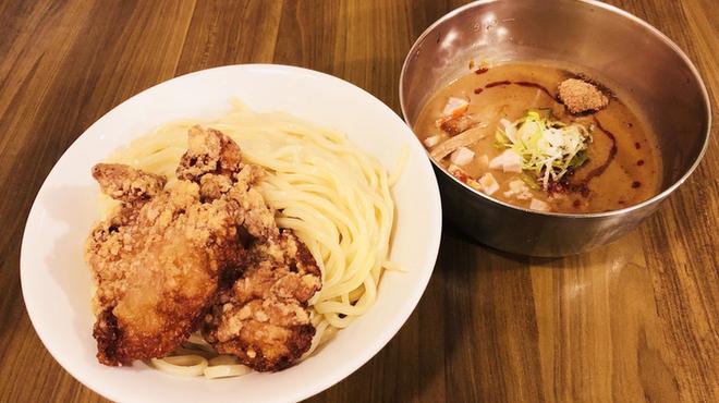 つけ麺 ラーメン ヤゴト55 - 料理写真:当店看板メニュー唐揚げつけ麺