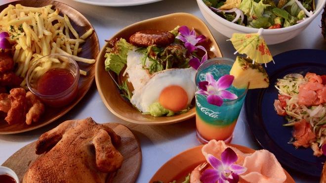 サントリー大人のビアガーデン BeerBank HawaiianBBQ - メイン写真: