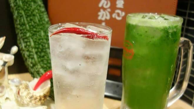 沖縄食堂 てぃんがーら - ドリンク写真: