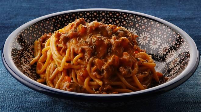 ロットチェント - 料理写真:腸詰めのパプリカソース