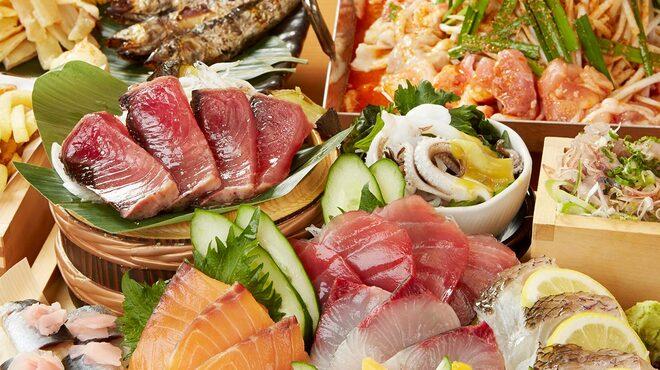 魚盛 - 料理写真:「大漁10点盛り」の宴