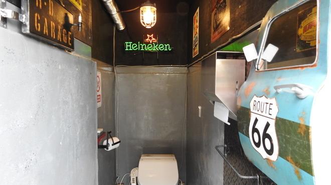 AMERICANS FOOS 80 DINER BIKER'S VINTAGE CAFE - メイン写真: